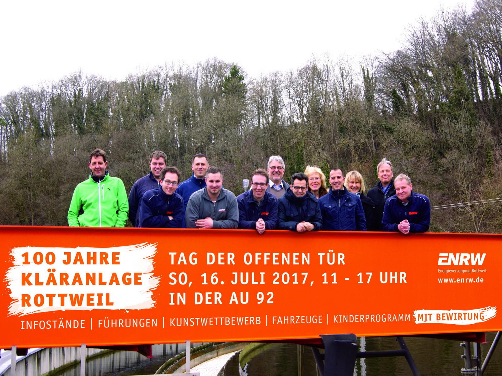Team Kläranlage Rottweil