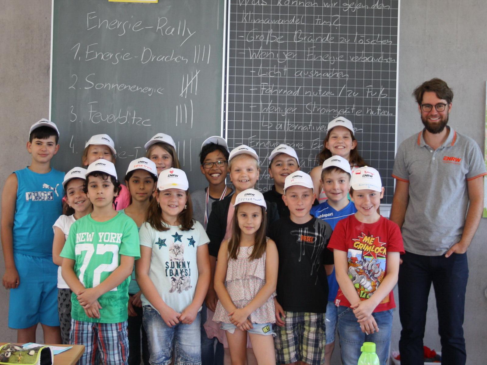 ENRW-Energieunterricht an der Schlossbergschule Wehingen, Klasse 3b