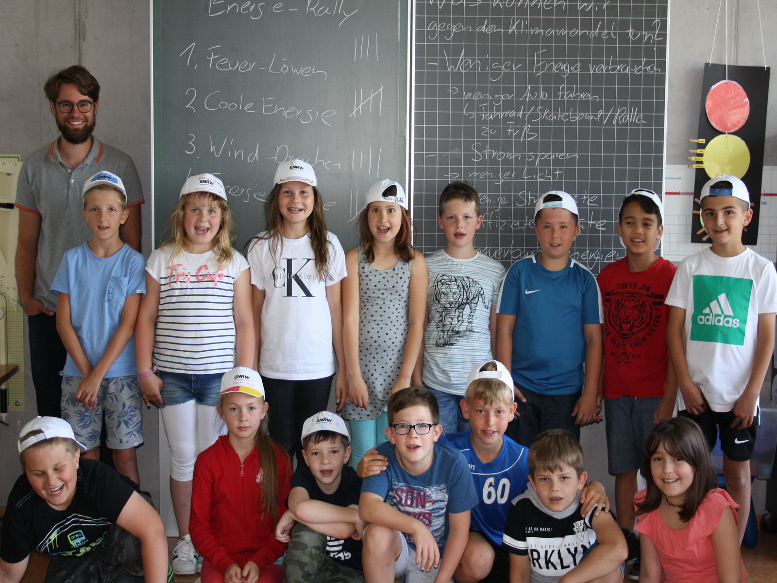 ENRW-Energieunterricht an der Schlossbergschule Wehingen, Klasse 3a