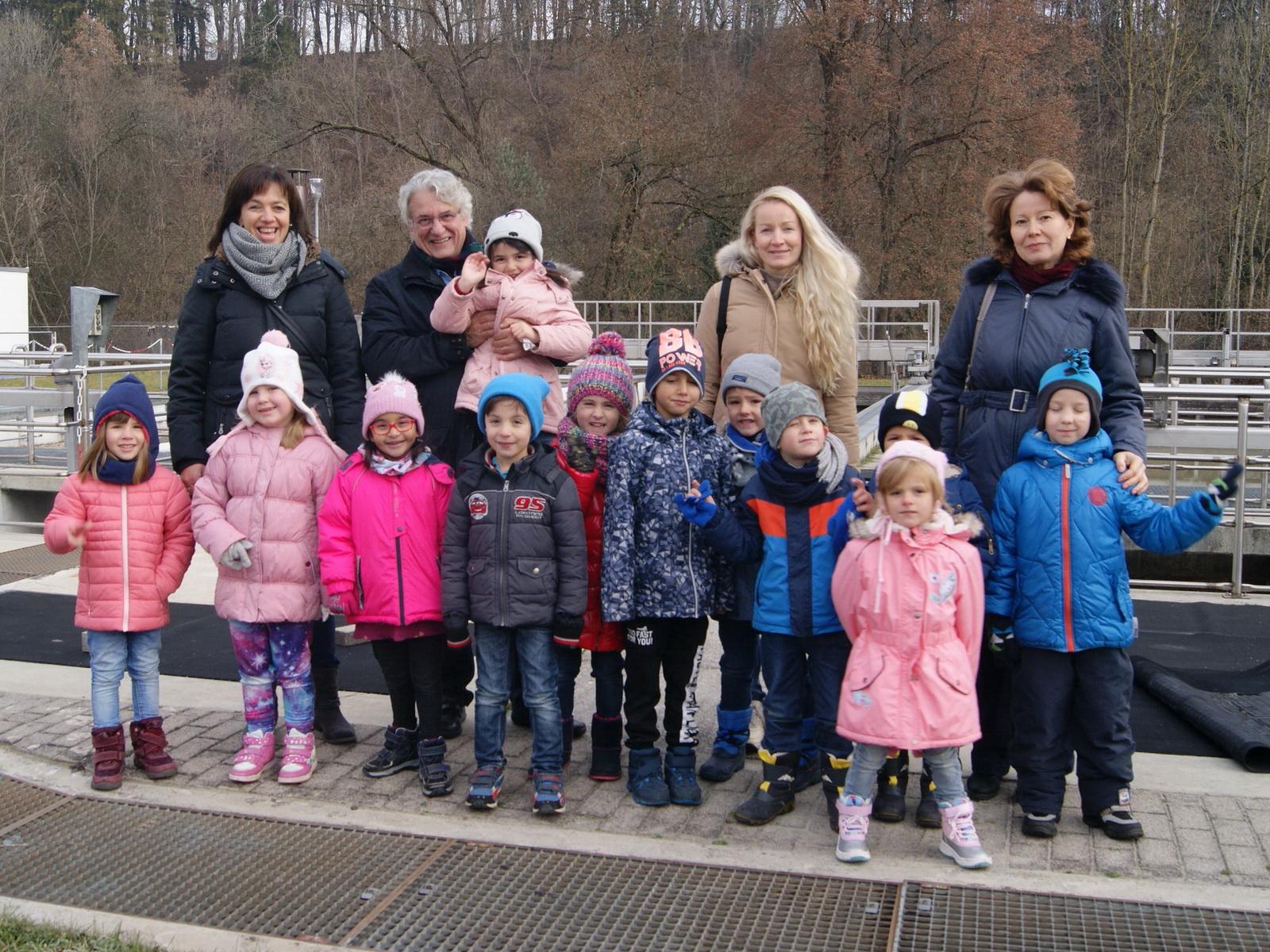 Vorschüler besuchten Rottweiler Kläranlage
