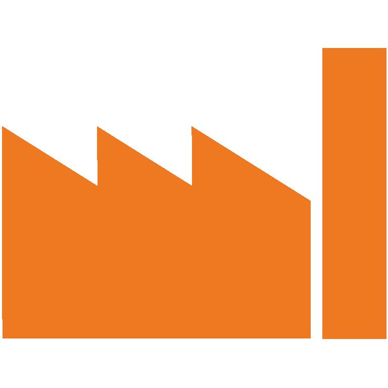 Industrie: Icon von Gebäude