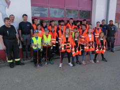 Frittlinger Bürger beteiligten sich bei einer ENRW-Dorfputzete.