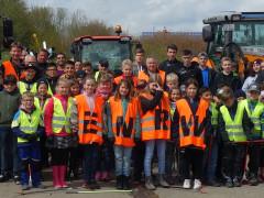 Bürger aus Wehingen engagierten sich bei der ENRW-Dorfputzete.