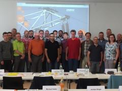 Elektroinstallateure nahmen an einer von der ENRW organisierten Schulung teil.