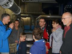 Interessierte informierten sich im Hochbehälter Zimmern über Trinkwasserversorgung.