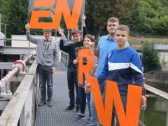 ENRW begrüßt fünf neue Azubis.