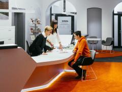 Frontdesk im ENRW-Kundenzentrum