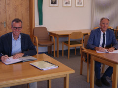 Unterzeichnung Konzessionsvertrag Aldingen