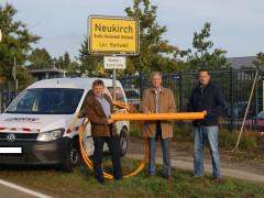 In Neukirch fließt ab sofort Erdgas