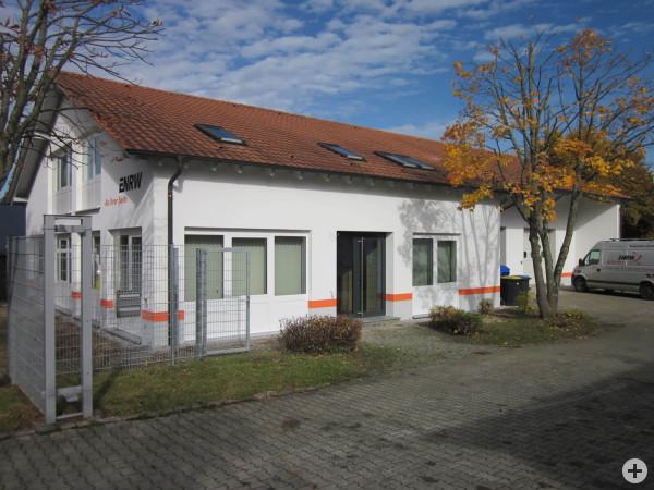 Aufnahme der ENRW-Betriebsstelle in Spaichingen