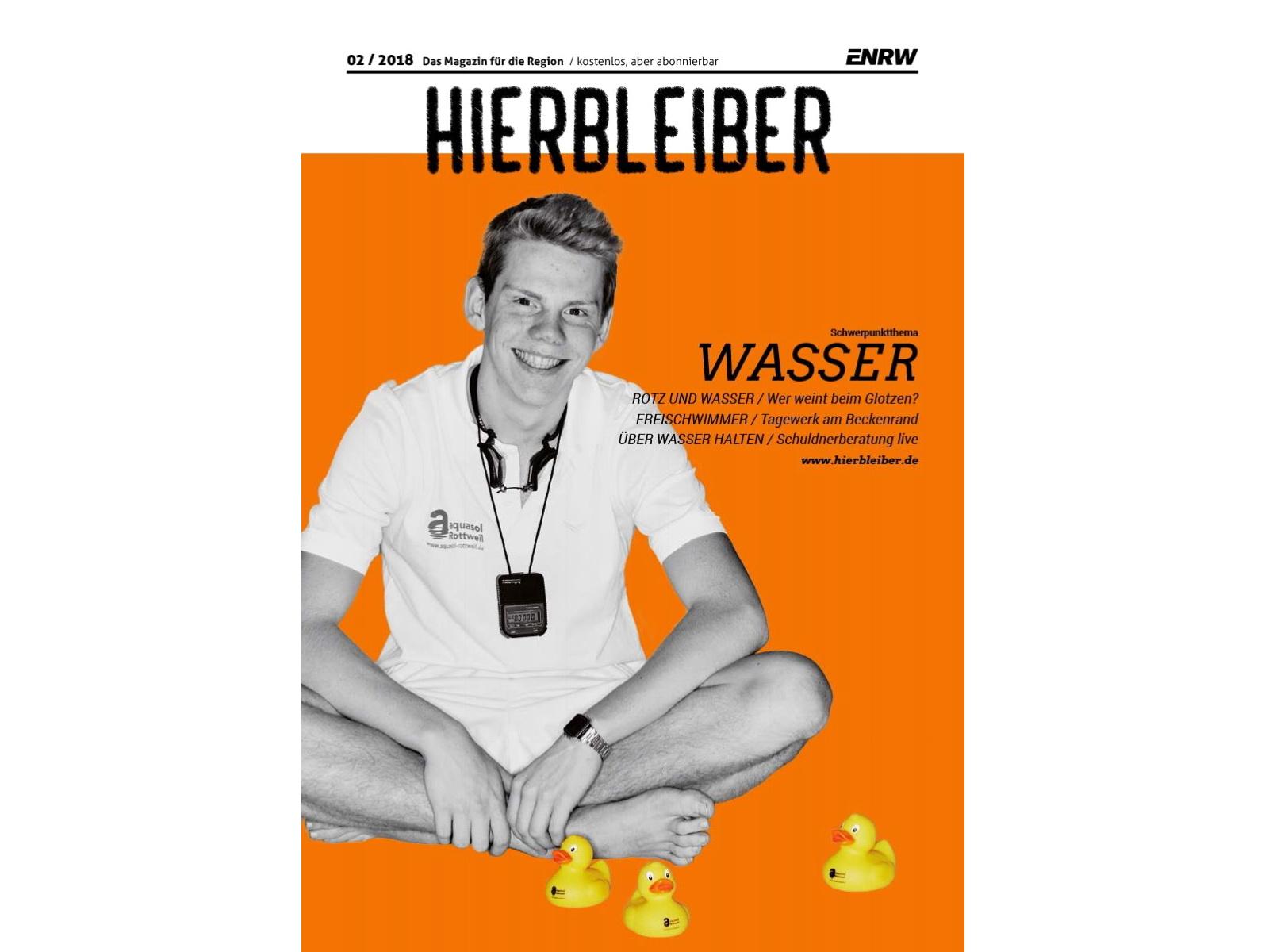 ENRW-HIERBLEIBER Cover der zweiten Ausgabe